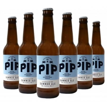 - PIP - SUMMER ALE 6*0.33L - ECOCERT FR-BIO-01 - Planète Drinks