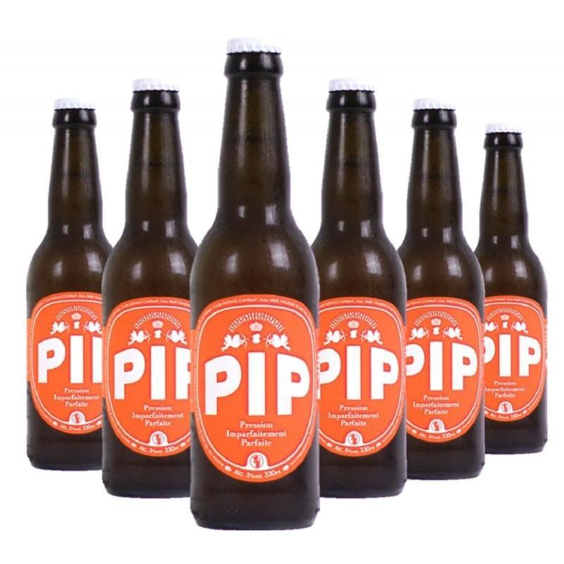 - PIP - MEGA RED 6*0.33L - ECOCERT FR-BIO-01 - Planète Drinks