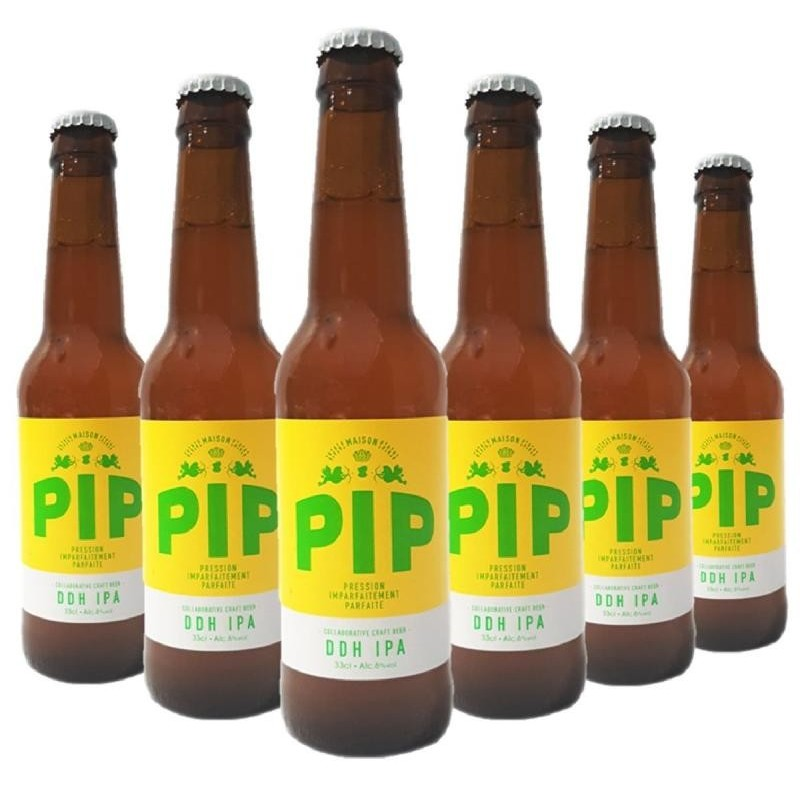 - PIP - ULTRA DOUBLE DRY HOPPING IPA 6*0.33L - Planète Drinks