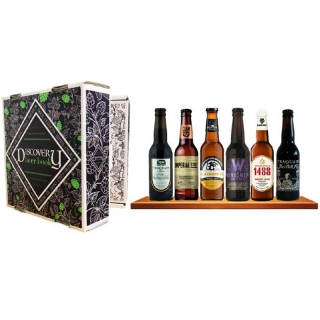 DISCOVERY BEER BOOK BIERES D'EXCEPTION ECOSSAISES 6*33CL