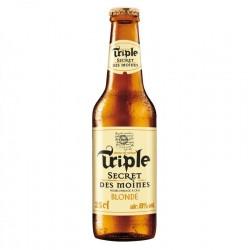 biere - TRIPLE SECRET DES MOINES BLONDE 25CL - Planète Drinks