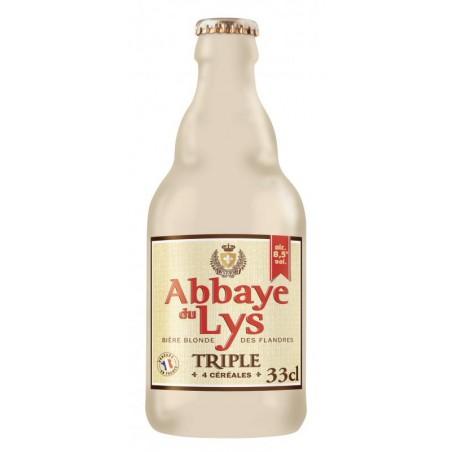 ABBAYE DU LYS TRIPLE BLONDE 33CL