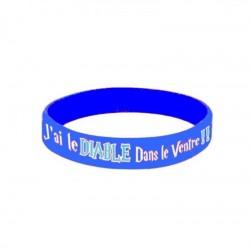 Bracelet PVC BELZEBUTH BLANCHE