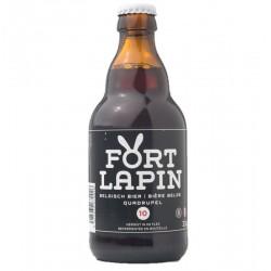 biere - FORT LAPIN QUADRUPEL 33CL - Planète Drinks