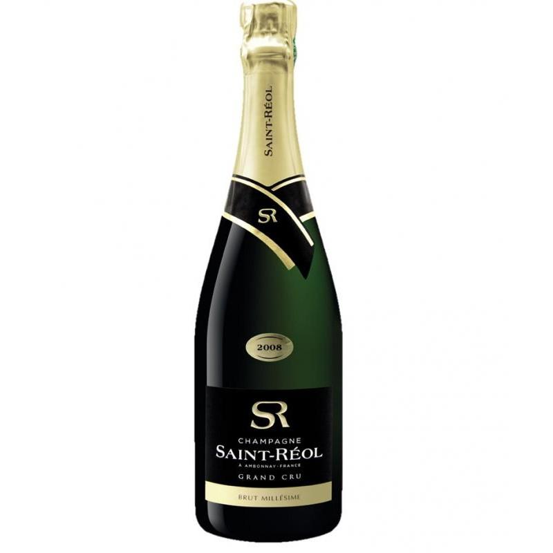 CHAMPAGNE MOUSSEUX - SAINT REOL MILLESIME 2008 GRAND CRU 75CL - Planète Drinks