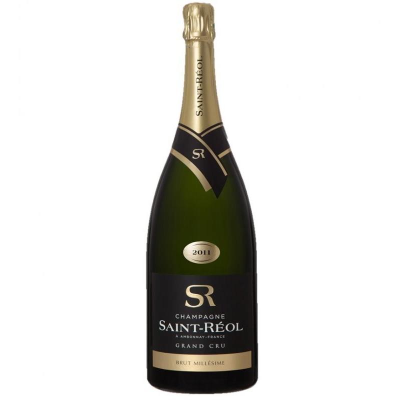 CHAMPAGNE MOUSSEUX - SAINT REOL MAGNUM MILLESIME 2011 GRAND CRU - Planète Drinks
