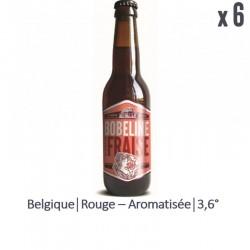 BOBELINE FRAISE 6*33CL