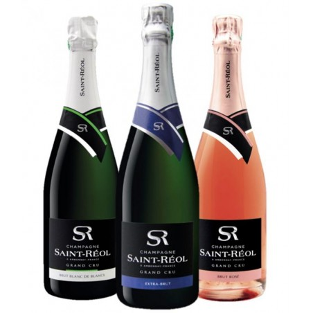 BOX 2 CHAMPAGNE ST REOL MIXTE 3*75CL