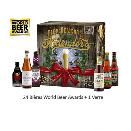 BOX DECOUVERTE WORLD BEER AWARDS X24 BIERES PRIMEES + 1VERRE