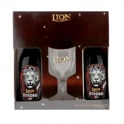 COFFRET LION STRONG 2*33CL...
