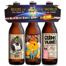 TRIPACK BEER OF THE WORLD ESPAGNOL 3*33CL