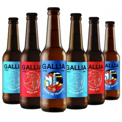 BOX GALLIA 100% IPA 6*33CL