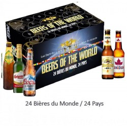 COFFRET BIERES DU MONDE 24...