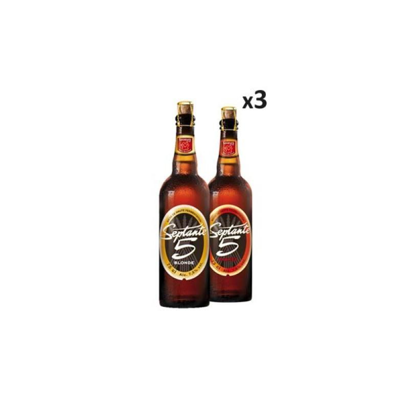 - BOX DECOUVERTE SEPTANTE 5 6X75CL - Planète Drinks