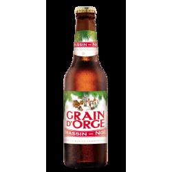 biere - LA GRAIN D'ORGE DE NOEL 25CL - Planète Drinks