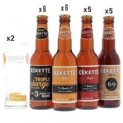 BOX MIXTE KEKETTE 22 BIERES...