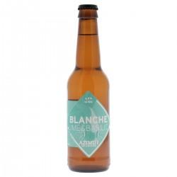 - AZIMUT BLANCHE LIME BASILIC 33CL - Planète Drinks
