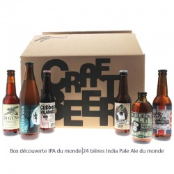 BOX DECOUVERTE 24 IPA DU MONDE