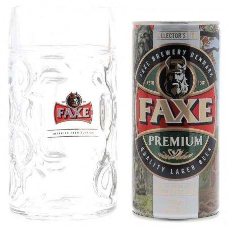 BOX FAXE PREMIUM CAN 1L + 1 CHOPE 1L