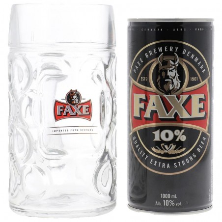 BOX FAXE 10° CAN 1L + 1 CHOPE 1L