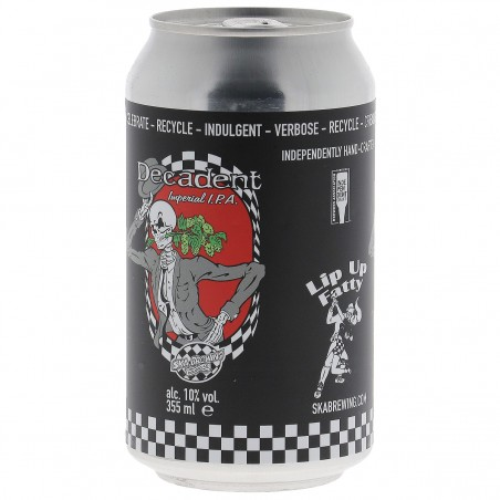 SKA BREWING DECADENT IMPERIAL IPA 35.5CL CAN