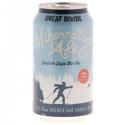 biere - GREAT DIVIDE HIBERNATION ALE 35.5CL CAN - Planète Drinks