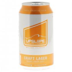 biere - UPSLOPE - CRAFT LAGER 35.5CL CAN - Planète Drinks