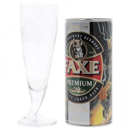 BOX FAXE PREMIUM CAN 1L + 1 VERRE 25CL