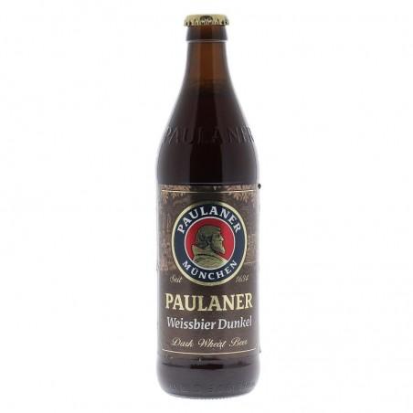 biere - PAULANER HEFE WEISSBIER DUNKEL 0,50L - Planète Drinks
