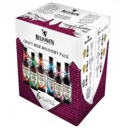 COFFRET BIERE - PACK DECOUVERTE BELHAVEN CRAFT 6 BIERES*33CL - Planète Drinks