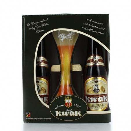 KWAK COFFRET 4*33CL + 1VERRE