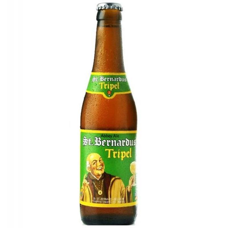 biere - SAINT BERNARDUS TRIPLE 0,33L VC MB - Planète Drinks
