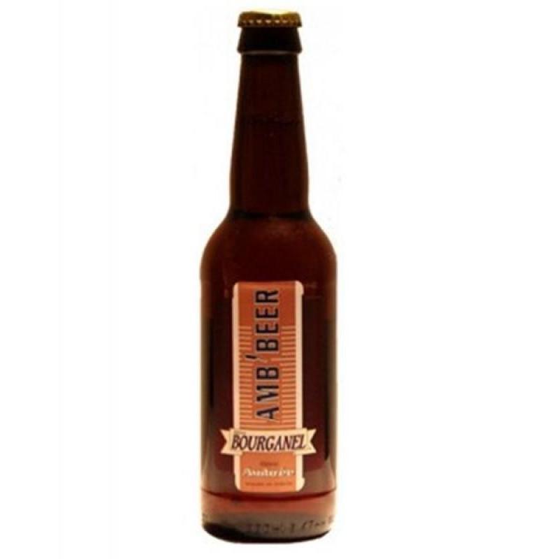 biere - BOURGANEL AMBREE 0,33L - Planète Drinks