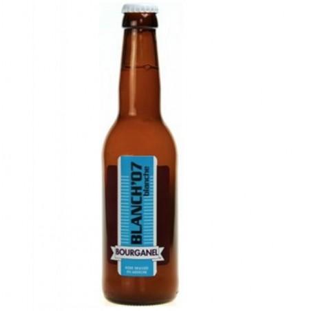 biere - BOURGANEL BLANCHE 0,33L - Planète Drinks