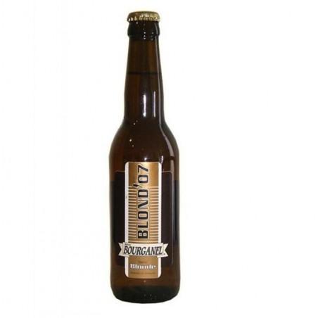 biere - BOURGANEL BLONDE 0,33L - Planète Drinks