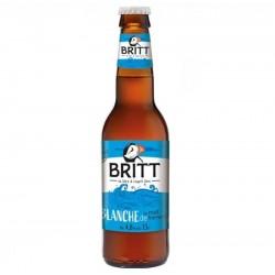 biere - BRITT BLANCHE 33CL - Planète Drinks