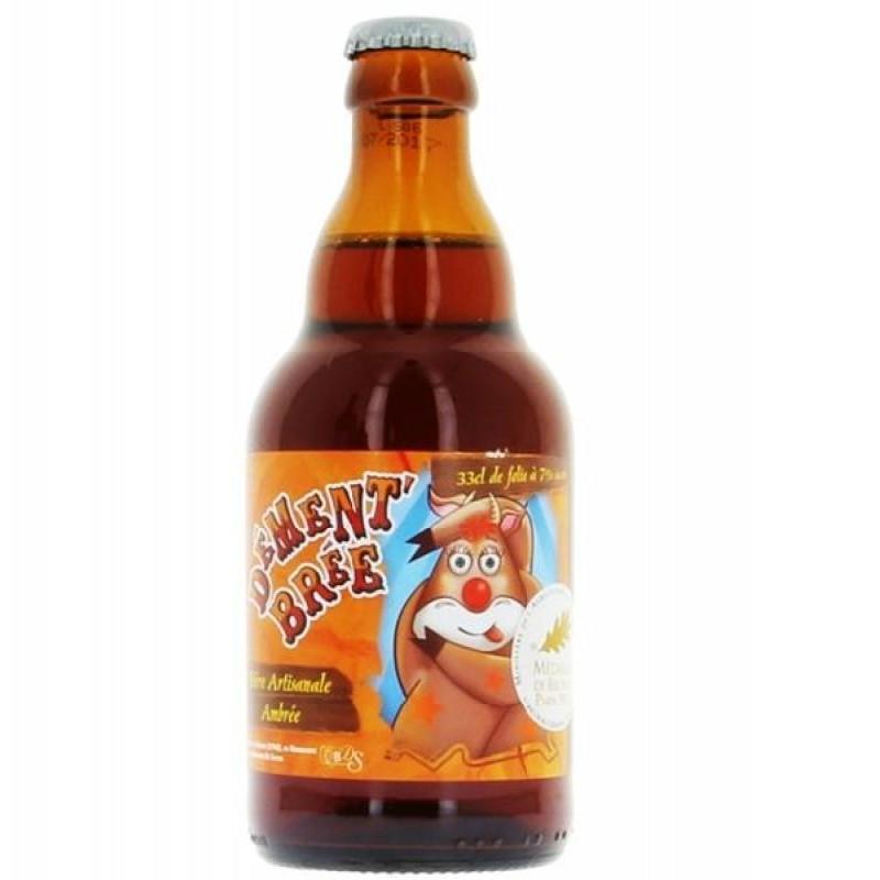 biere - DE SUTTER DEMENT'BREE AMBREE 0,33L - Planète Drinks