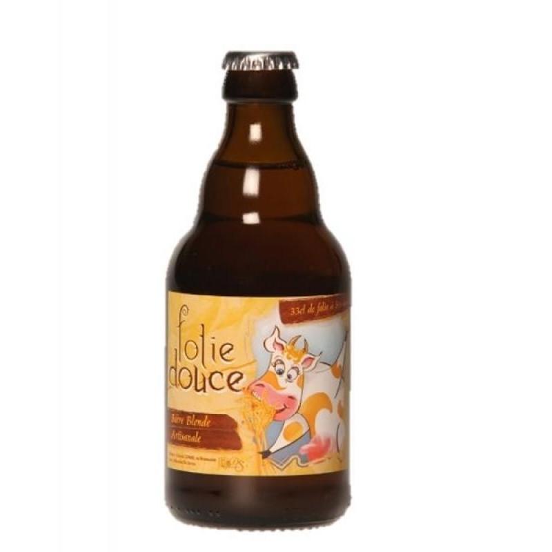 biere - DE SUTTER  FOLIE DOUCE BLONDE 0,33L - Planète Drinks