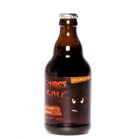 biere - DE SUTTER SOMBRE FOLLE BRUNE 0,33L - Planète Drinks