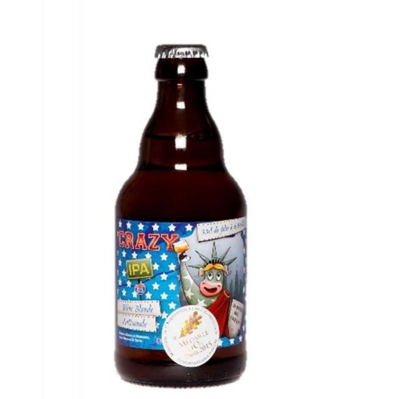 biere - DE SUTTER CRAZY BLONDE IPA 0,33L - Planète Drinks