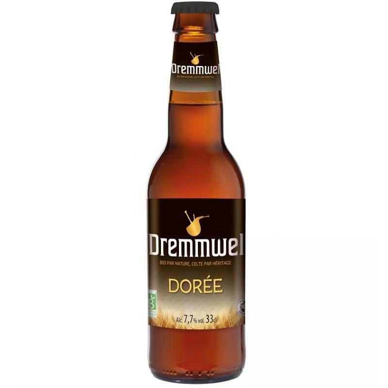 biere - DREMMWEL DOREE BIO 33CL - CERTIFIE FR-BIO-01 - Planète Drinks