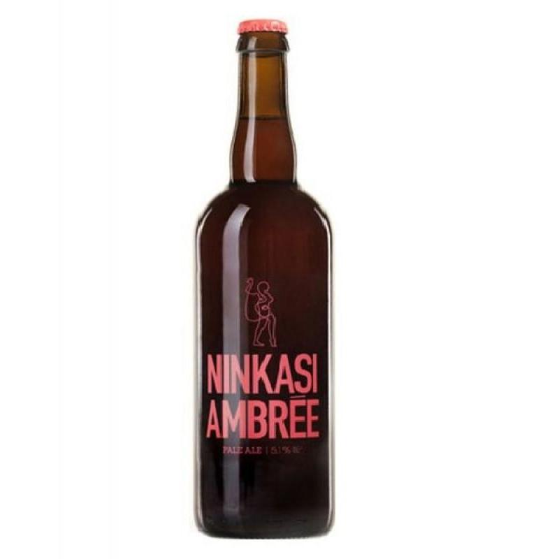 biere - NINKASI BIERE AMBREE 0,75L - Planète Drinks
