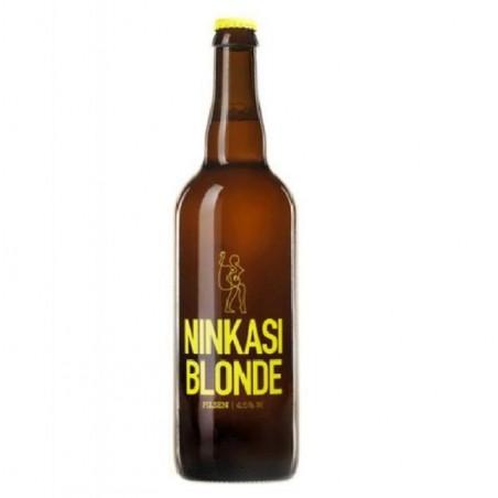 biere - NINKASI BIERE BLONDE 0,75L - Planète Drinks