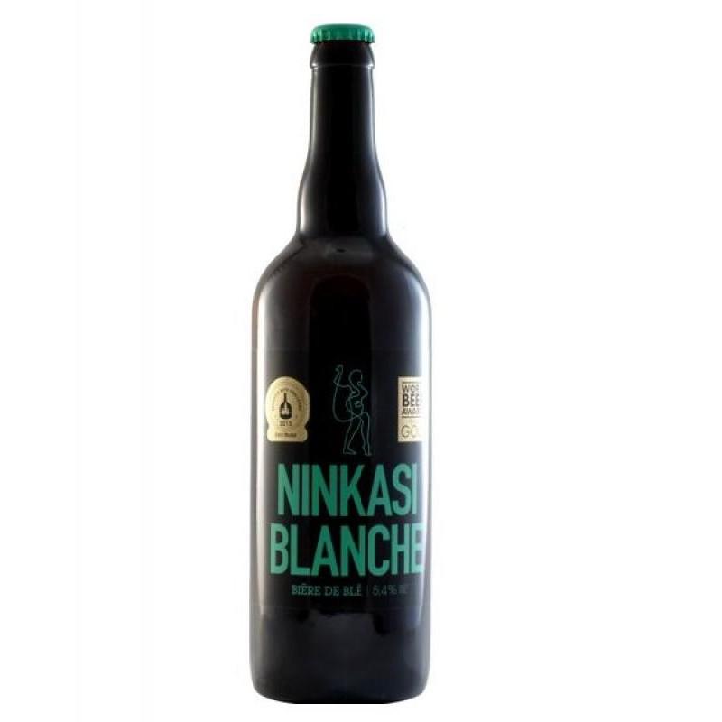 biere - NINKASI BIERE BLANCHE 0,75L - Planète Drinks