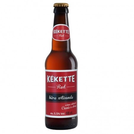 biere - KEKETTE RED 33CL - Planète Drinks