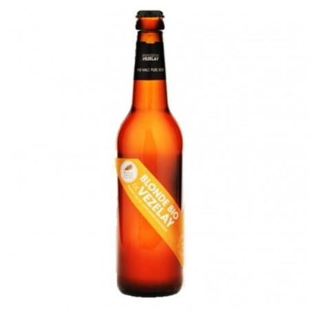 biere - VEZELAY BIO BLONDE 0.25L - CERTIFIE FR-BIO-01 - Planète Drinks