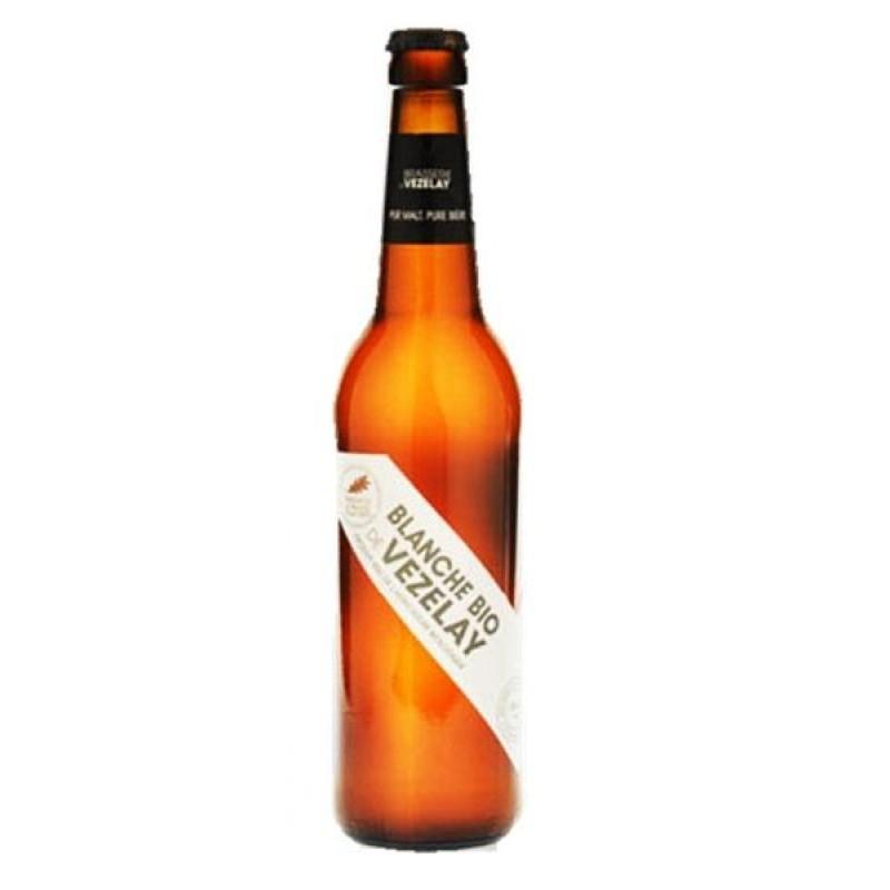 biere - VEZELAY BIO  BLANCHE 0.25L - CERTIFIE FR-BIO-01 - Planète Drinks