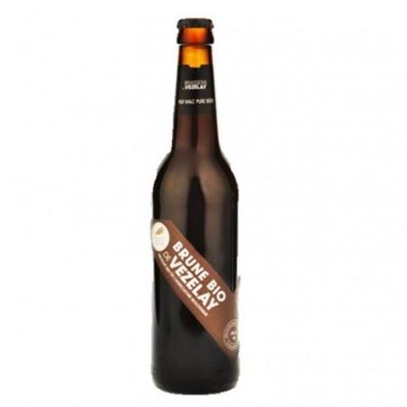 biere - VEZELAY BIO  BRUNE 0.25L - CERTIFIE FR-BIO-01 - Planète Drinks