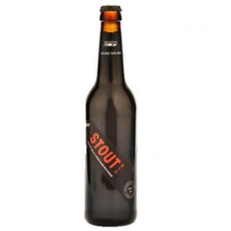 biere - VEZELAY STOUT BIO 0.50L - CERTIFIE FR-BIO-01 - Planète Drinks