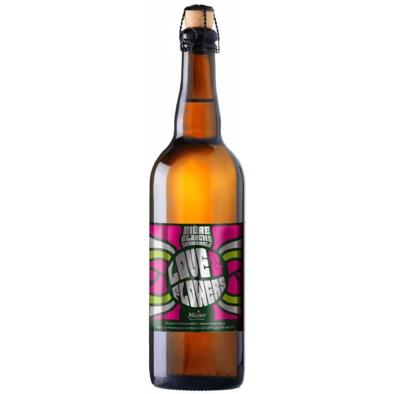biere - MELUSINE LOVE AND FLOWERS BIO 75CL - Planète Drinks